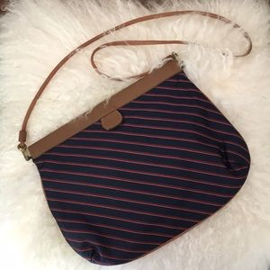 VINTAGE Trafalgar satin cross body/shoulder bag